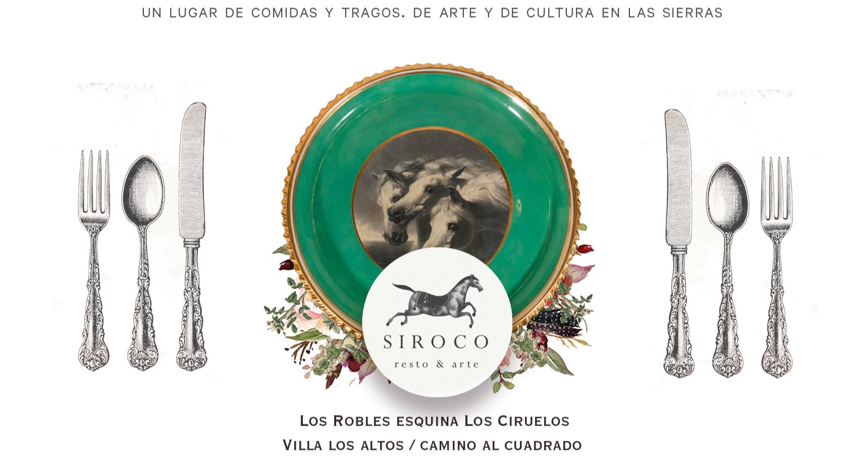SIROCO RESTO & ARTE SIROCO RESTO & ARTE Río Ceballos, Córdoba, Argentina