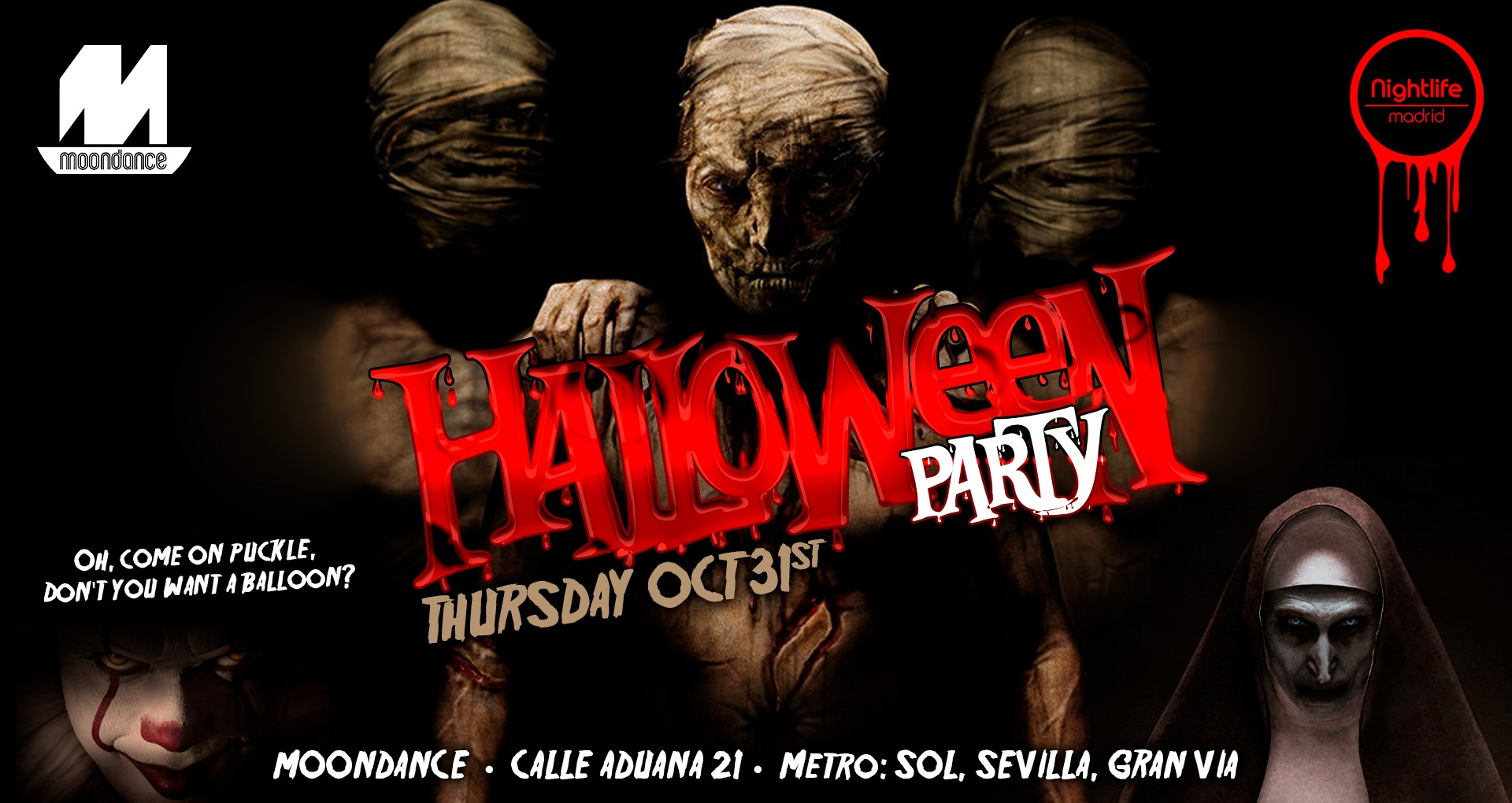Halloween Party - Club Moondance club