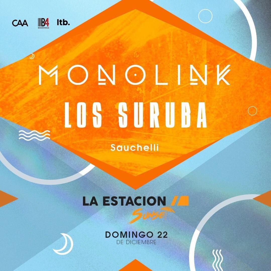 MONOLINK - LOS SURUBA @ LA ESTACION SUNSET - Club LA ESTACION SUNSET