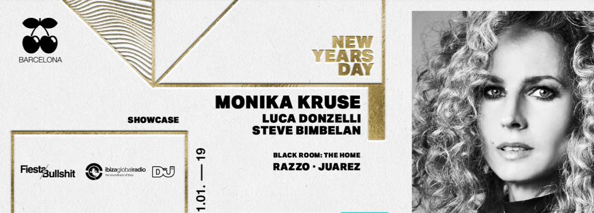 NEW YEAR'S DAY - MONIKA KRUSE, LUCA DONZELLI AND STEVE BIMBELAN PACHA BARCELONA