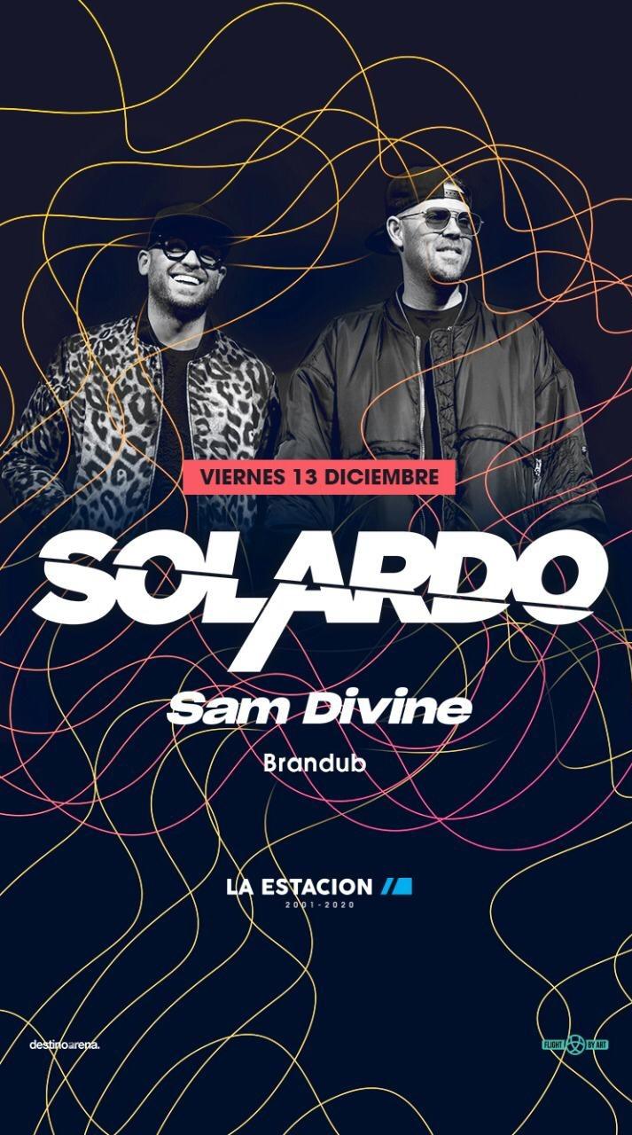 SOLARDO & Sam Divine Night @ La estación - Club LA ESTACION SUNSET