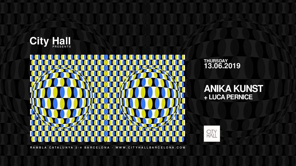 CITY HALL PRES. ANIKA KUNST + LUCA PERNICE CITYHALL
