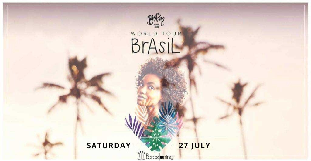 Brazilian Beach Party - Club BESTIAL BEACH CLUB