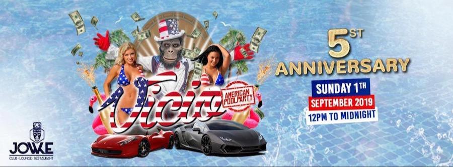 Vicio American - Pool Party (5ºAniversario) - Virtual La Gigante