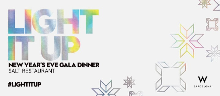 LIGHT IT UP | Cena de Gala de Fin de Año - Club W Barcelona