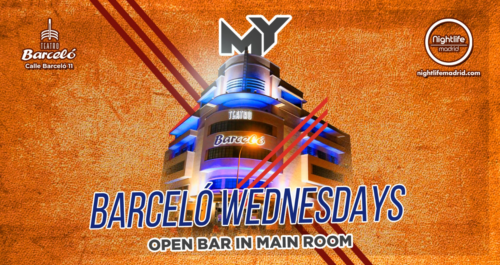Barceló Wednesdays - Virtual Nightlife Madrid