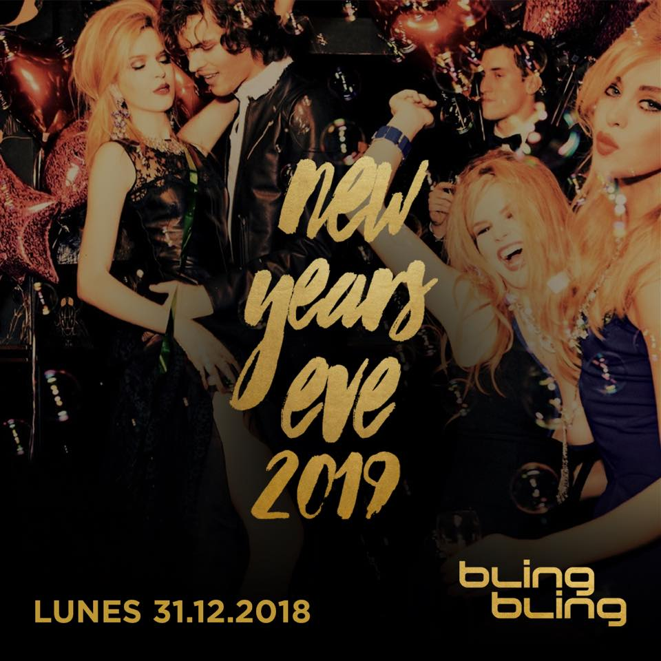 NEW YEAR'S EVE'S 2019 - BLING BLING  BLING BLING