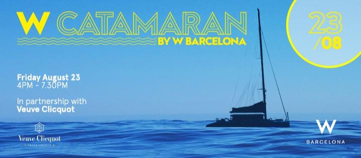 W Catamaran | 23.08 - Club W Barcelona