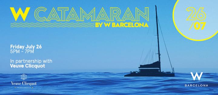 W Catamarán | 26.07 - Club W Barcelona