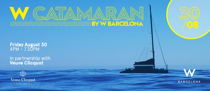 W Catamarán | Closing 30.08 - Club W Barcelona