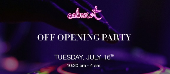 OFF  OPENING PARTY THE BARCELONA EDITION