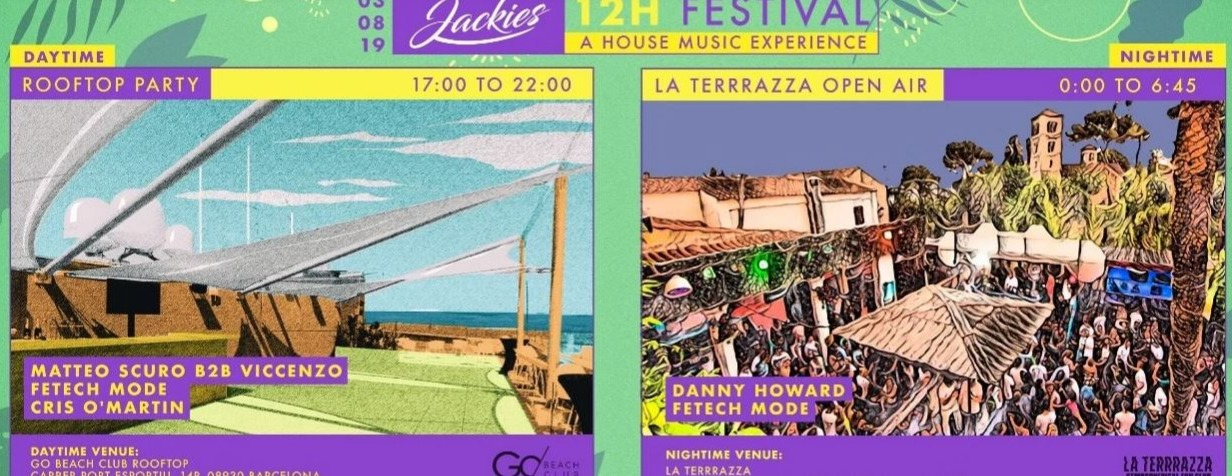 La Terrrazza Jackies 12h Festival Rooftop Party Daytime
