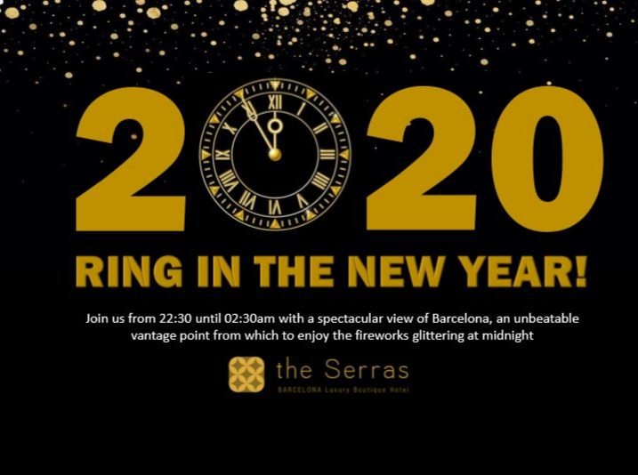 NEW YEAR´S EVE 2020 - THE SERRAS - Club The Serras Rooftop