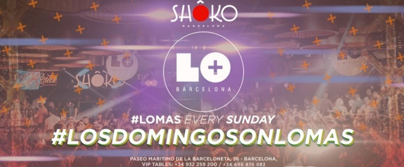 LOS DOMINGOS SON LO MAS - Club Shoko Barcelona