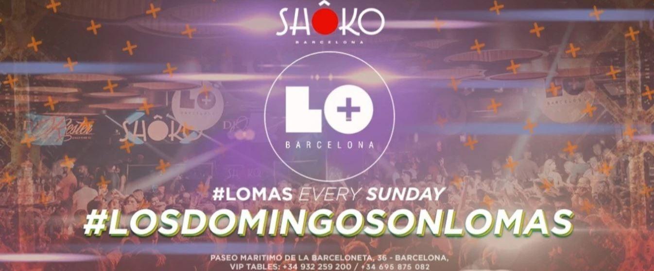 LOS DOMINGOS SON LO MAS - Club Shoko Barcelona