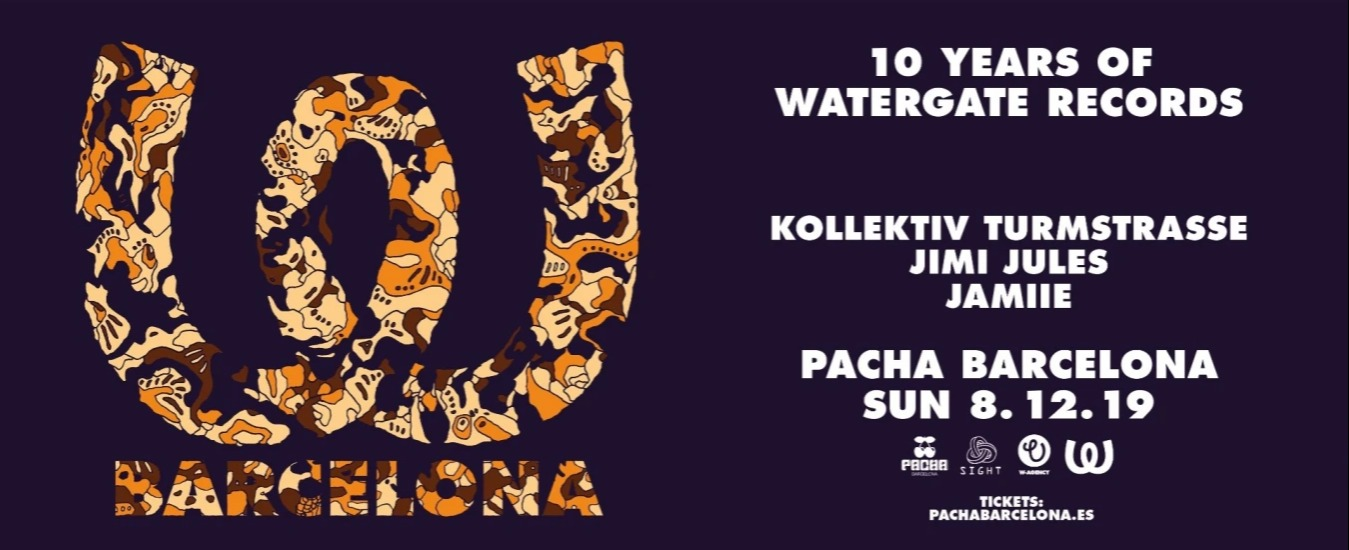 SIGHT in collaboration w/ WATERGATE pres. Kollektiv Turmstrasse, Jimi Jules and Kristin Velvet - Club Pacha Barcelona