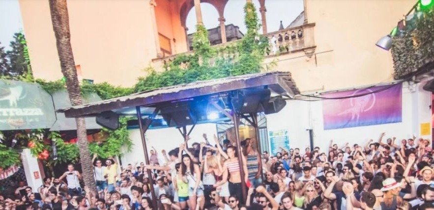 La Terrrazza Underground Rebels Open Air Summer Closing