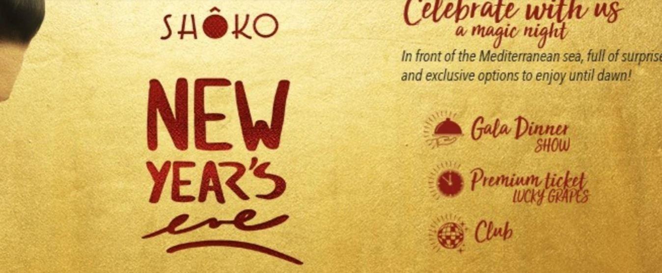 NEW YEAR'S EVE - Club Shoko Barcelona