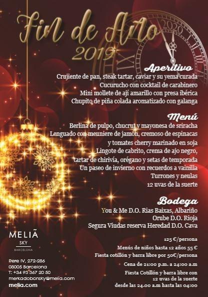 NEW YEAR'S EVE - MELIA MELIA SKY