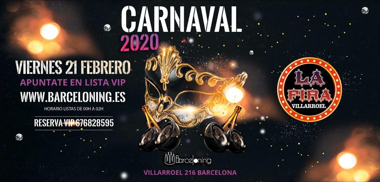 La Fira Villarroel - Carnaval Edition - Club LA FIRA VILLARROEL