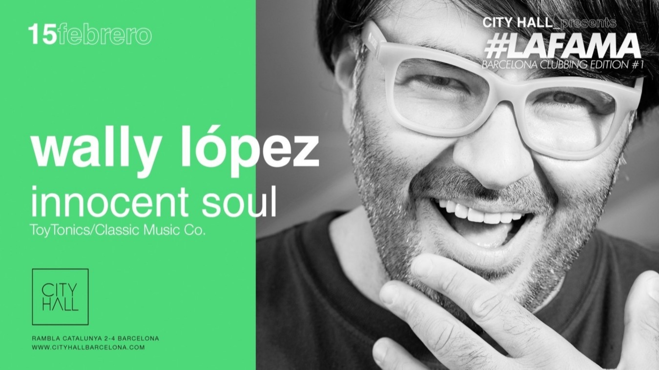 CITY HALL PRES. WALLY LOPEZ - INNOCENT SOUL CITYHALL