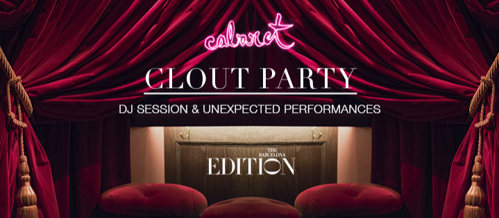 CLOUT PARTY - Club The Barcelona EDITION