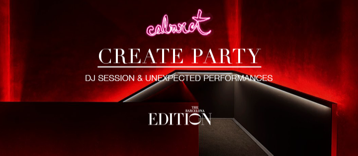 CREATE PARTY - Club The Barcelona EDITION