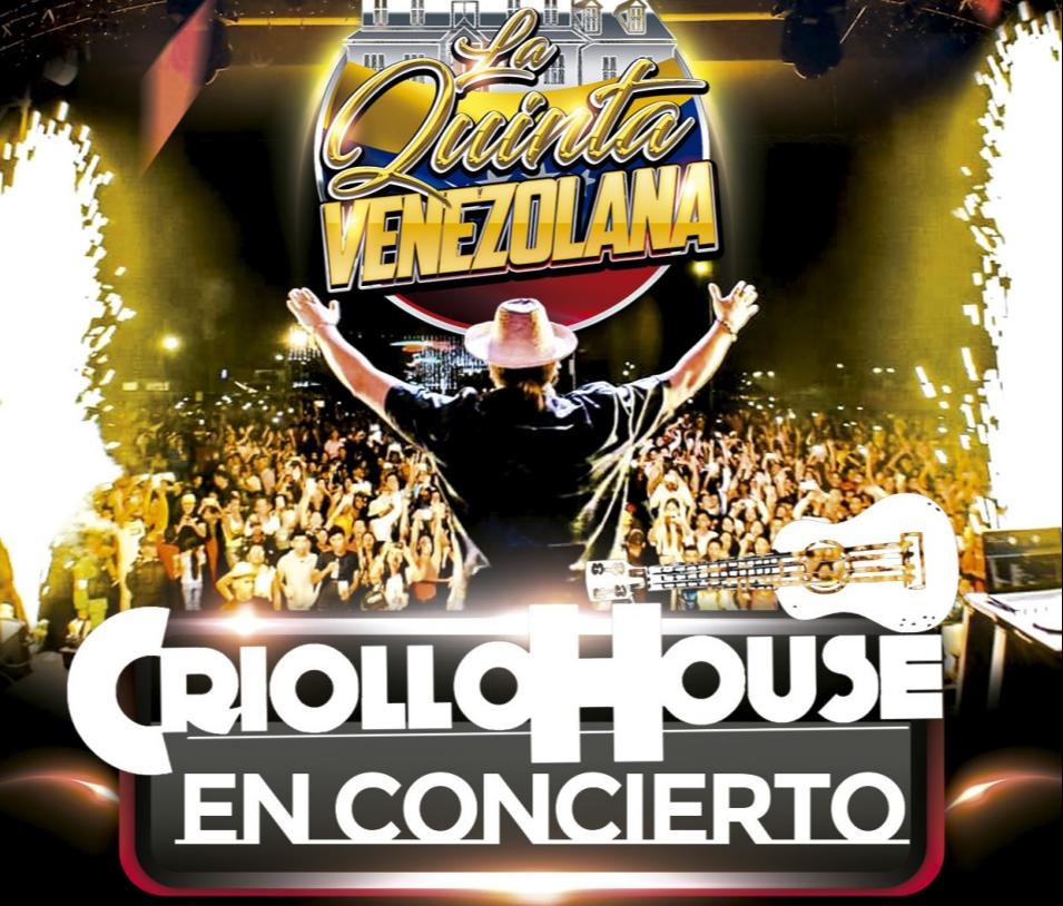 CRIOLLO HOUSE EN CONCIERTO // LA QUINTA VENEZOLANA - Club Go Beach Club Barcelona