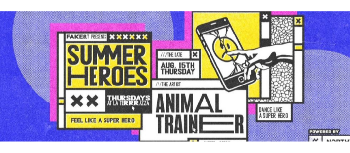 SUMMER HEROES OPEN AIR W/ ANIMAL TRAINER LA TERRRAZZA