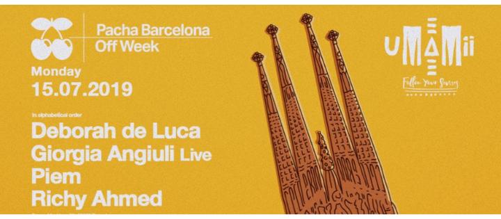 OFF WEEK pres. UMAMII - Club Pacha Barcelona