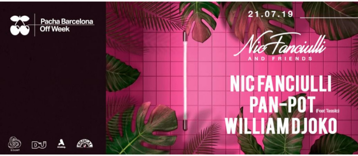 SIGHT pres. Nic fanciulli and Friends - Club Pacha Barcelona