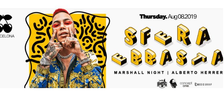 I Hate Thursdays pres. Sfera Ebbasta - Club Pacha Barcelona