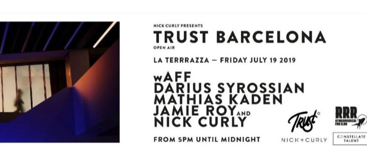 Trust Barcelona | La Terrrazza Off Week July 2019 - Club La Terrrazza