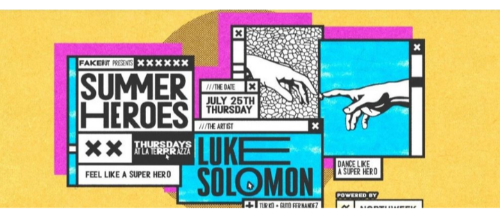 Summer Heroes Open Air w/ Luke Solomon - Club La Terrrazza