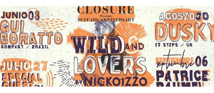 Wild And Lovers by Nickoizzo w/ TBA - Club La Terrrazza