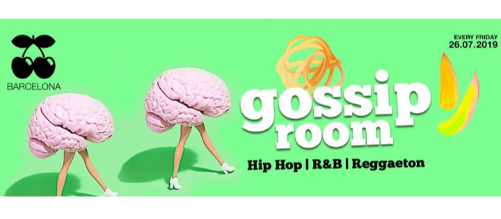 GOSSIP ROOM - EVERY FRIDAY - Club Pacha Barcelona
