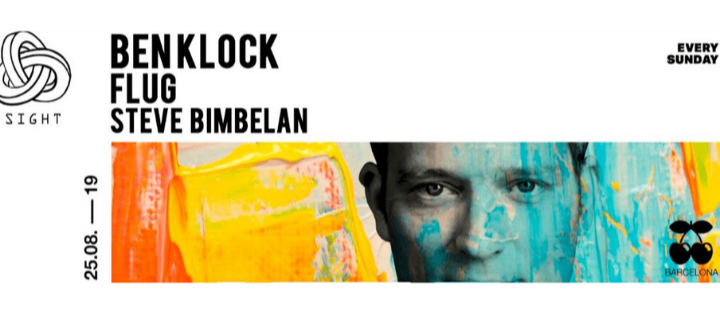 SIGHT pres. Ben Klock, Flug and Steve Bimbelan - Club Pacha Barcelona