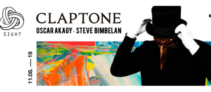SIGHT pres. Claptone, Oscar Akagy and Steve Bimbelan - Club Pacha Barcelona