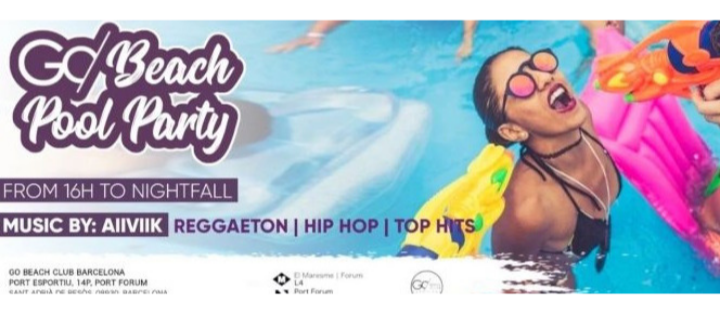 Go Beach Pool Party - Club Go Beach Club Barcelona