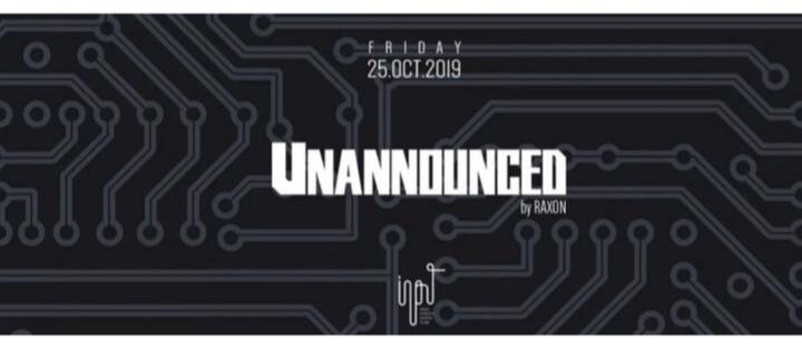 Unannounced Vol.4 by Raxon - Club INPUT