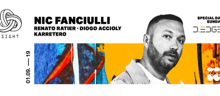 SIGHT w/ D-Edge pres. Nic Fanciulli, Renato Ratier b2b Diogo Accioly and Karretero - Club Pacha Barcelona