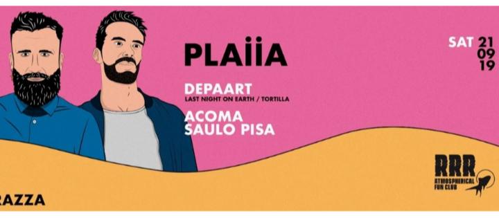 Closing PLAIIA w/ Catz 'n Dogz, Saulo Pisa - Club La Terrrazza