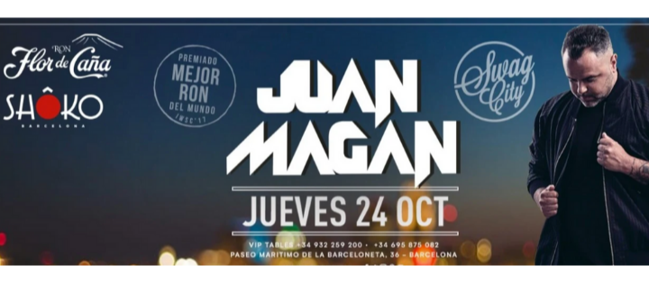 JUAN MAGÁN | Swag City - Club Shoko Barcelona