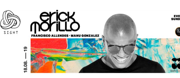 SIGHT pres. Erick Morillo, Francisco Allendes & Manu Gonzalez - Club Pacha Barcelona