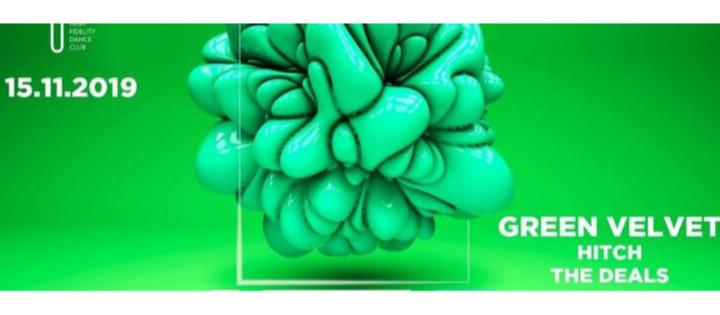 Input presents Green Velvet - Club INPUT