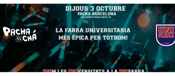Pacha-Chá | UNIFARRA - Club Pacha Barcelona