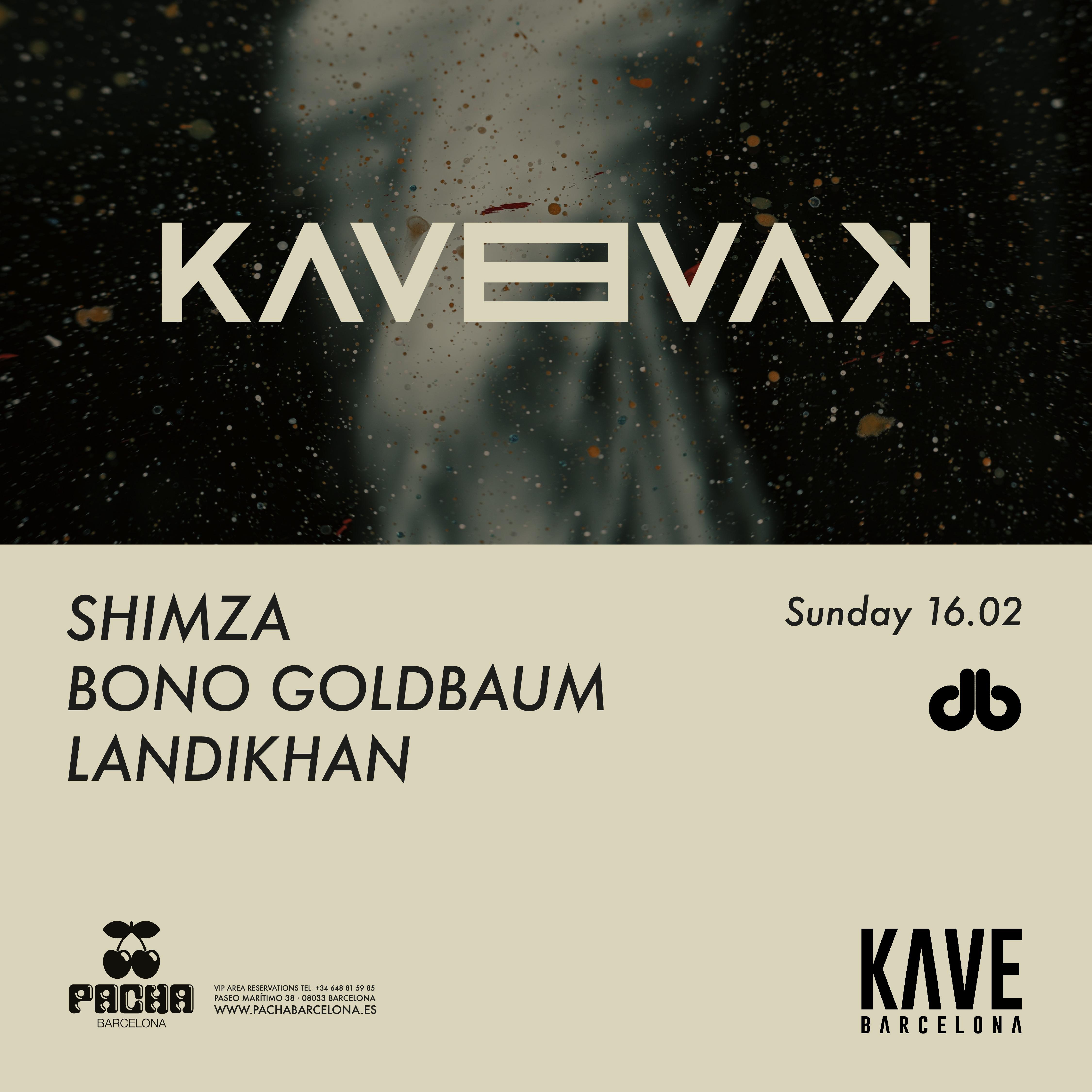 SIGHT IN COLLABORATION WITH KAVE PRES. SHIMZA, BONO GOLDBAUM AND LANDIKHAN PACHA BARCELONA