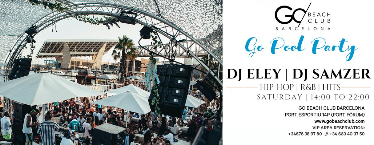 GO! Pool Party - Club Go Beach Club Barcelona