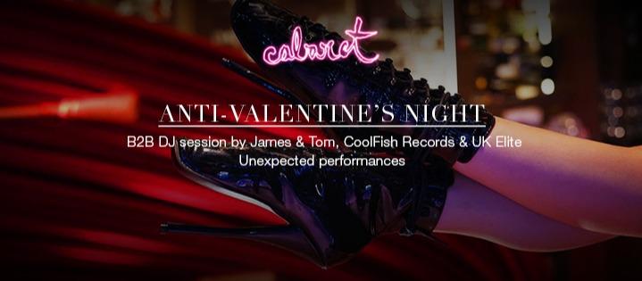 ANTI-VALENTINE'S NIGHT - Club The Barcelona EDITION