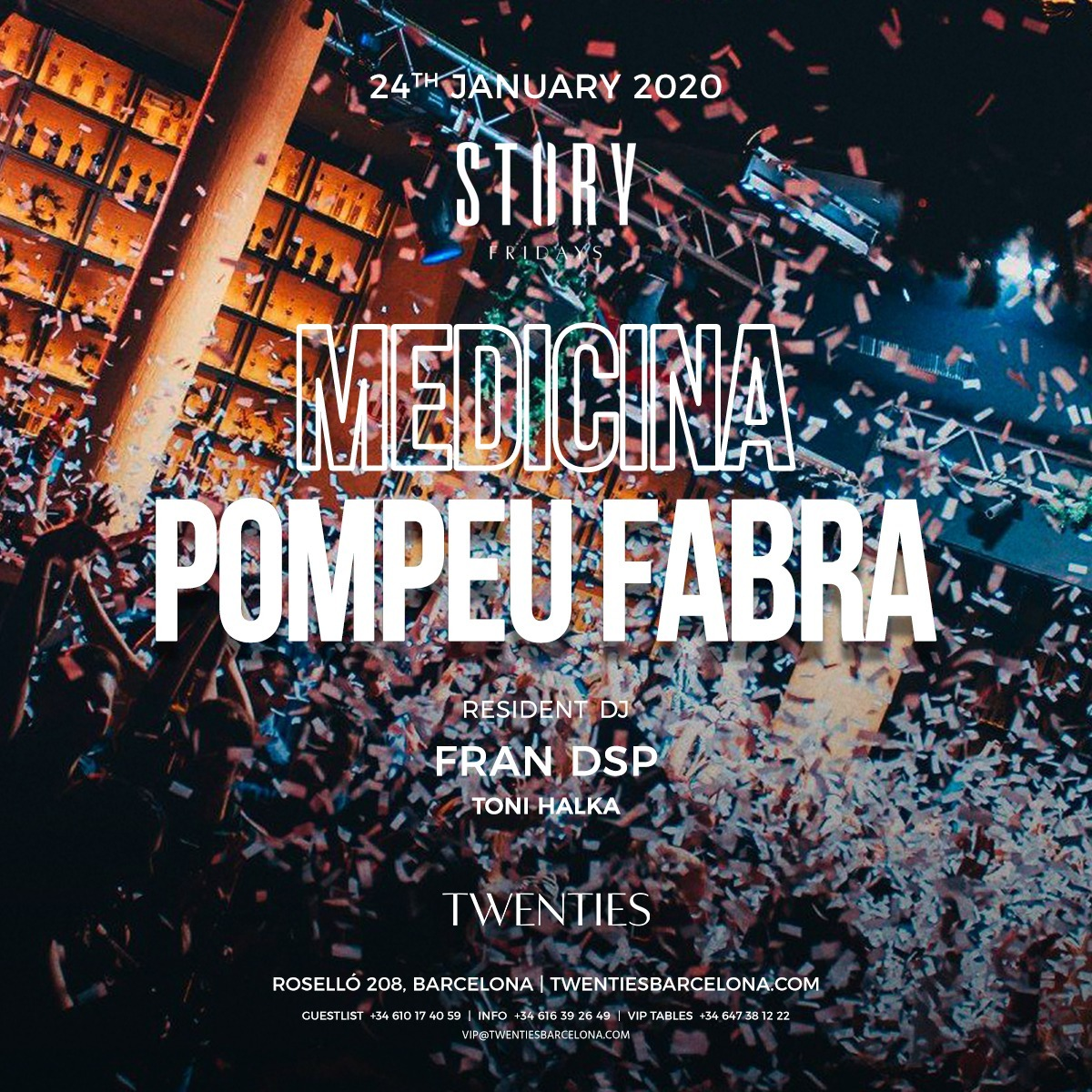 Viernes - Story - Twenties - Club Twenties Barcelona